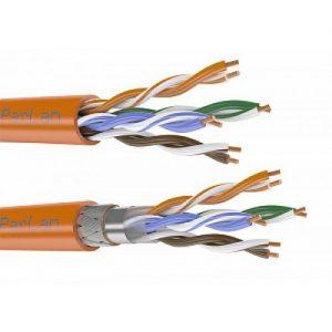 Прием кабеля связи